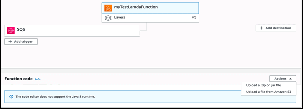 Create Jar application code for Lamda Function
